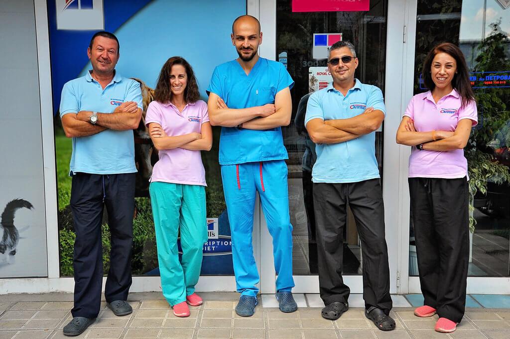 Нашият екип -Ветеринарна-клиника-Санивет-Велико-Търново